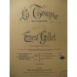 GILLET Ernest La Toupie Violon Piano 1910
