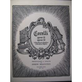 CORELLI Opus III & IV Analyse
