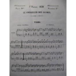 Le Conseiller des Dames Piano Chant 1850