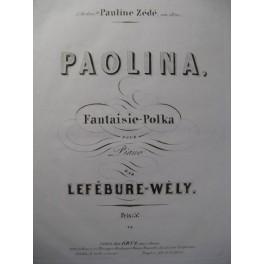 LEFÉBURE-WÉLY Paolina Piano 1854