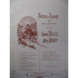 BURTY Marc Au Pays de Bohême Piano 1886
