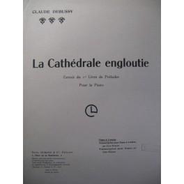 DEBUSSY Claude La Cathédrale Engloutie Piano 1944