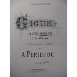 SAINT-SAËNS Camille Gigue Henri VIII Piano 1886