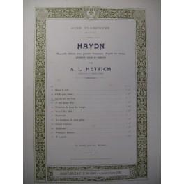 HAYDN Joseph La Vie est un Rêve Chant Piano 1911