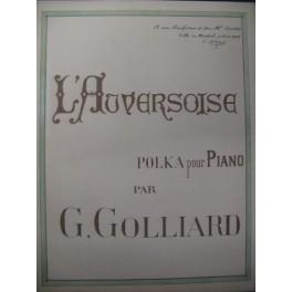 GOLLIARD G. L'Auversoise Piano 1908