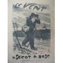 BOSC A. Le Vent Burret Chant Piano XIXe