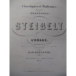 STEIBELT Daniel L'Orage Piano XIXe