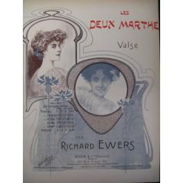 EWERS Richard Les Deux Marthe Piano 1905
