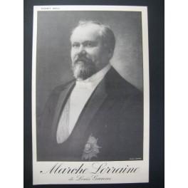 GANNE Louis Marche Lorraine Chant