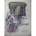 BREUSKINE G. F. Danaé Piano 1902