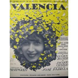 PADILLA José Valencia Chant Piano 1925