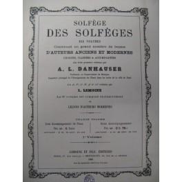 DANHAUSER A. L. Solgège des Solfèges vol. 2 1886