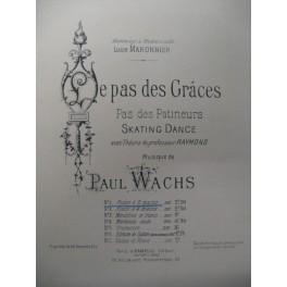 WACHS Paul Le Pas des Grâces Piano