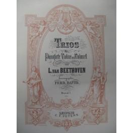 BEETHOVEN Ludwig van Trios Piano Violoncelle Violon