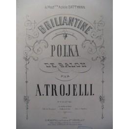 TROJELLI A. Polka de Salon Piano ca1870