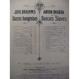 BRAHMS Johannes Danses Hongroises II Violon Piano