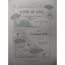 FITY Fernand Fleurs de Lotus Piano