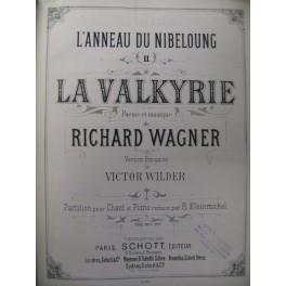 WAGNER Richard La Valkyrie Opéra XIXe