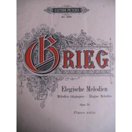Grieg E. Elegische Melodien Op. 34