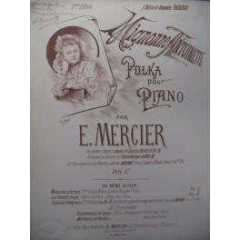 MERCIER E. Mignonne Antoinette Piano XIXe