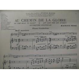 PESSE Maurice Au chemin de la Gloire Orchestre 1927