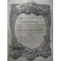 Feuilles de Terpsichore 3e année n° 15 Harpe Chant 1786