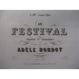 BORDOT Adèle Le Festival Piano ca1855