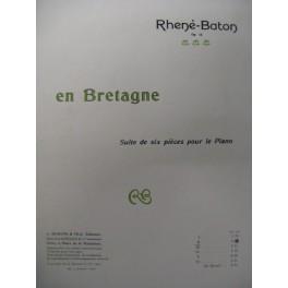 RHENÉ-BATON En Bretagne II Piano 1909