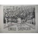 SPENCER Emile Souvenir d'Antony Piano ca1880