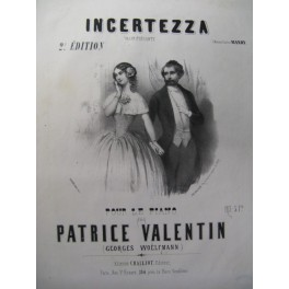 VALENTIN Patrice Incertezza Piano ca1850