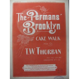 THURBAN T. W. The Permans Brooklyn Piano 1902