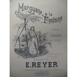 REYER E. Margyane à la Fontaine Chant Piano ca1890