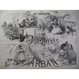 ARBAN Thérésa et ses Chansons Piano ca1865