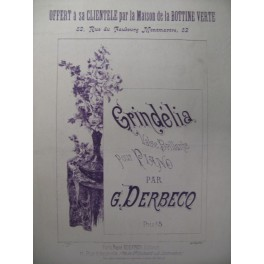 DERBECQ G. Grindelia Valse Piano