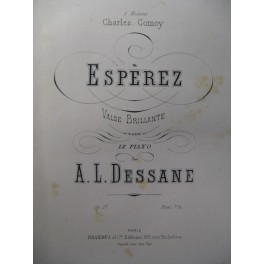 DESSANE A. L. Espèrez Piano 1873