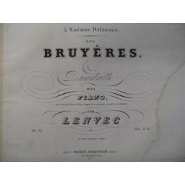 LENVEC Les Bruyères Piano ca1845