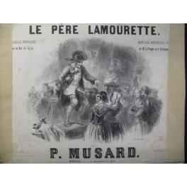 MUSARD P. Le Père Lamourette Piano ca1845