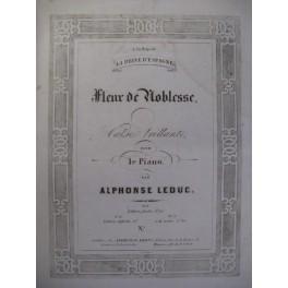 LEDUC Alphonse Fleur de Noblesse Piano 1854