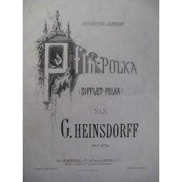 HEINSDORFF G. Pfiff Polka Piano 1861