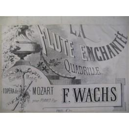 WACHS Frédéric La Flute Enchantée Piano ca1860