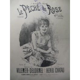CHATAU Henri Le Péché de Rose Chant Piano XIXe