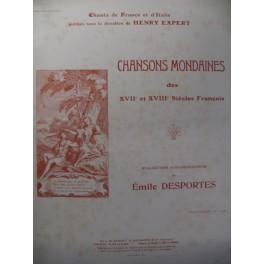 Dedans Mon Petit Réduit Chant Piano 1909