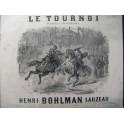 BOHLMAN SAUZEAU Henri Le Tournoi Piano 1850