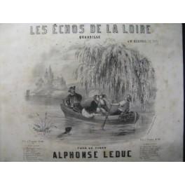 LEDUC Alphonse Les Echos de la Loire Piano 1858