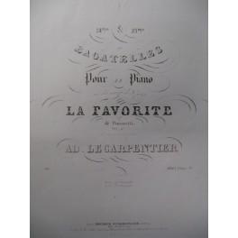 LECARPENTIER Ad. Bagatelle n° 25 Piano 1841