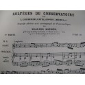 Solfèges du Conservatoire Chant Piano Orgue 1901
