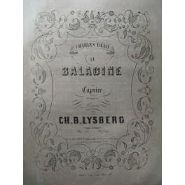 LYSBERG Ch. B. La Baladine Piano 1857