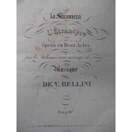 BELLINI La Staniera DONIZETTI Miserere Chant Orgue Piano ca1835