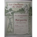 SCHUBERT Franz Marguerite Chant Piano XIXe