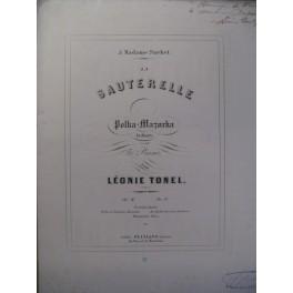TONEL Léonie La Sauterelle Piano 1854
